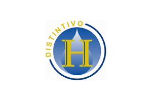 Distintivo H en comedor del Colegio Simón Bolivar