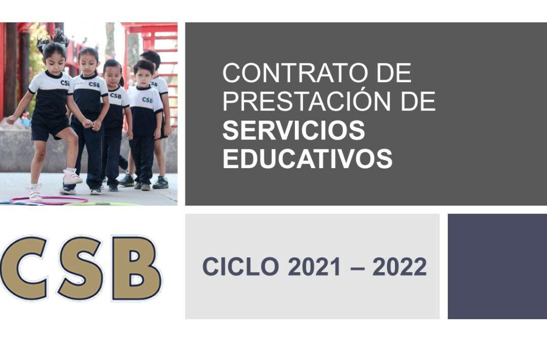 CONTRATO DE PRESTACIÓN DE SERVICIOS EDUCATIVOS