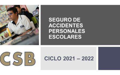 SEGURO DE ACCIDENTES PERSONALES ESCOLARES